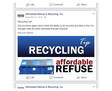 Affordable Refuse Social Media