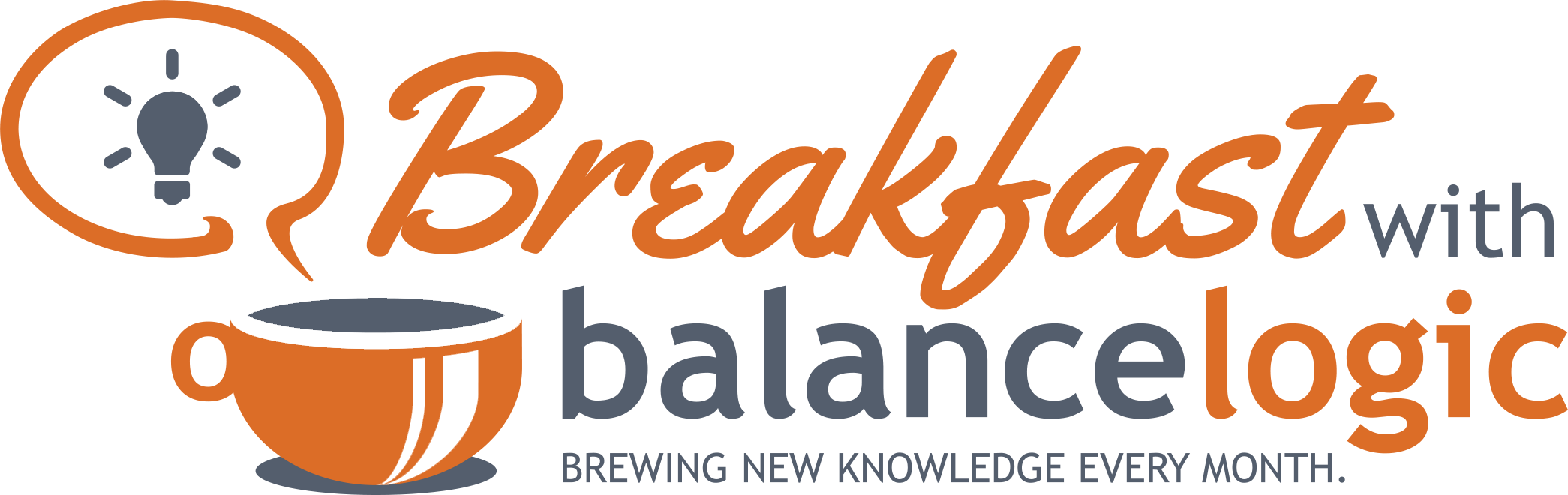 Breakfast With BalanceLogic Logo