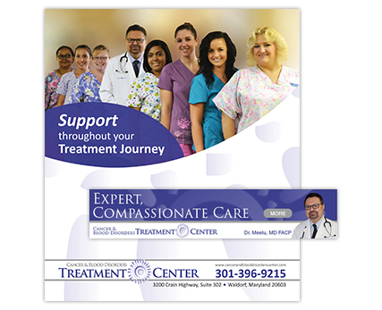 Cancer and Blood Disorders Treatment Center Ads