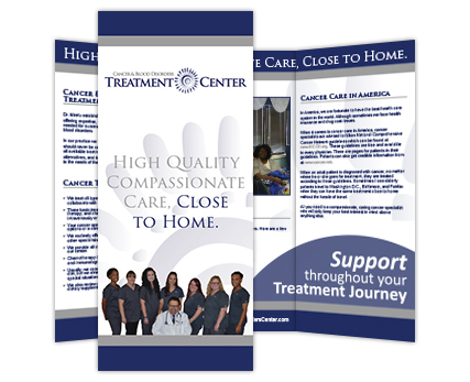 Cancer and Blood Disorders Treatment Center Brochure