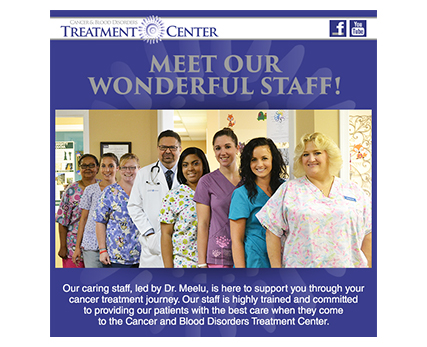 Cancer and Blood Disorders Treatment Center Eblast