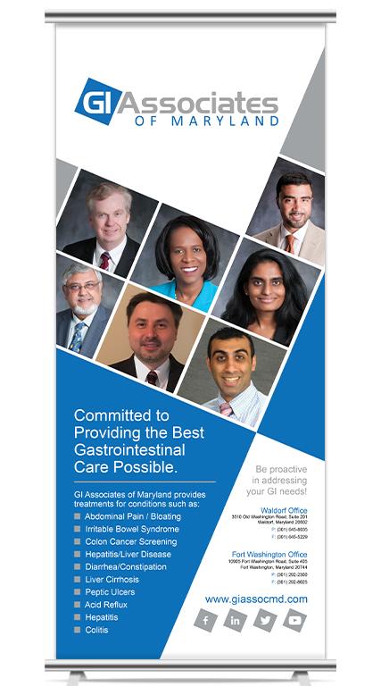 GI Associates of MD Vertical Banner