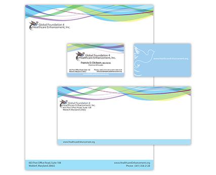 Global Foundation 4 Healthcare Enhancement Corporate Identity