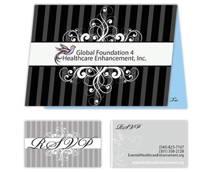 Global Foundation 4 Healthcare Enhancement Invitations