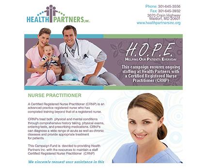 Health Partners Inc Eblast