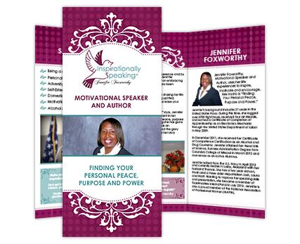 Inspirationally Speaking Brochure