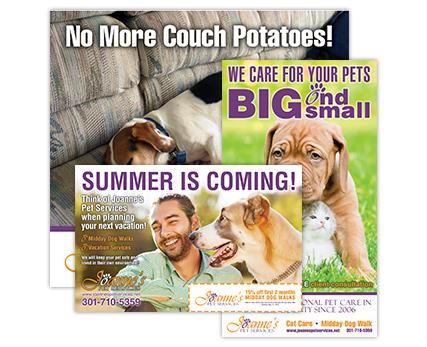 Joannes Pet Services Ads