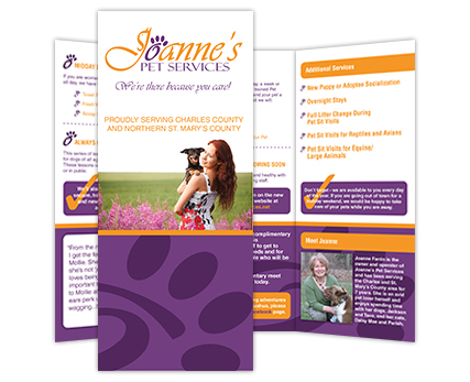 Joannes Pet Services Brochure