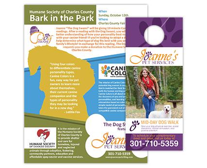 Joannes Pet Services Flyer