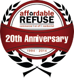 Affordable Refuse Logo 20th Anniversary