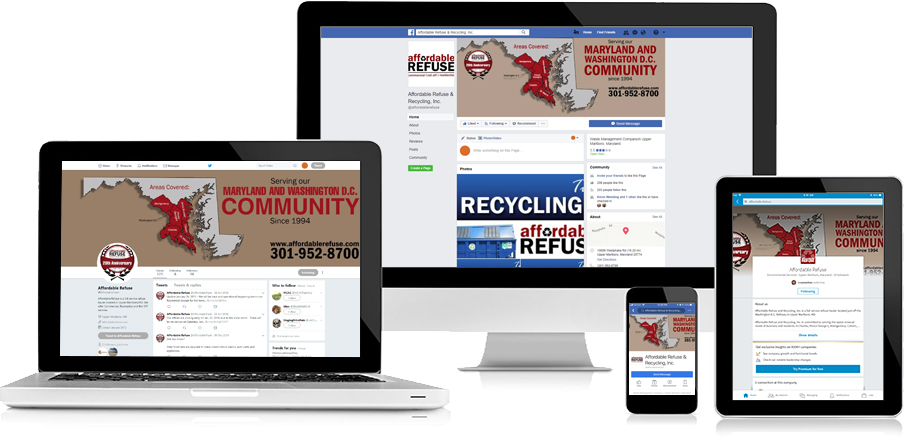 Affordable Refuse Social Media