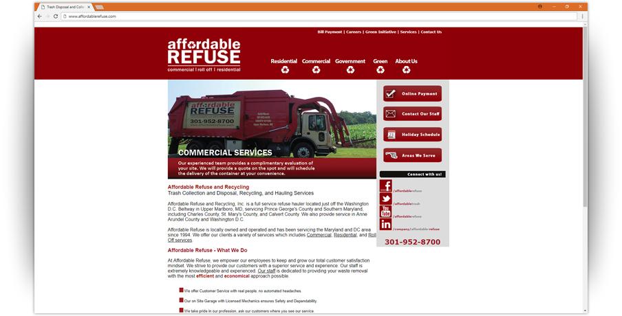 Affordable Refuse Website