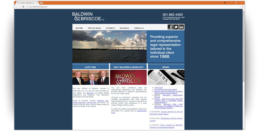 Baldwin and Briscoe Website