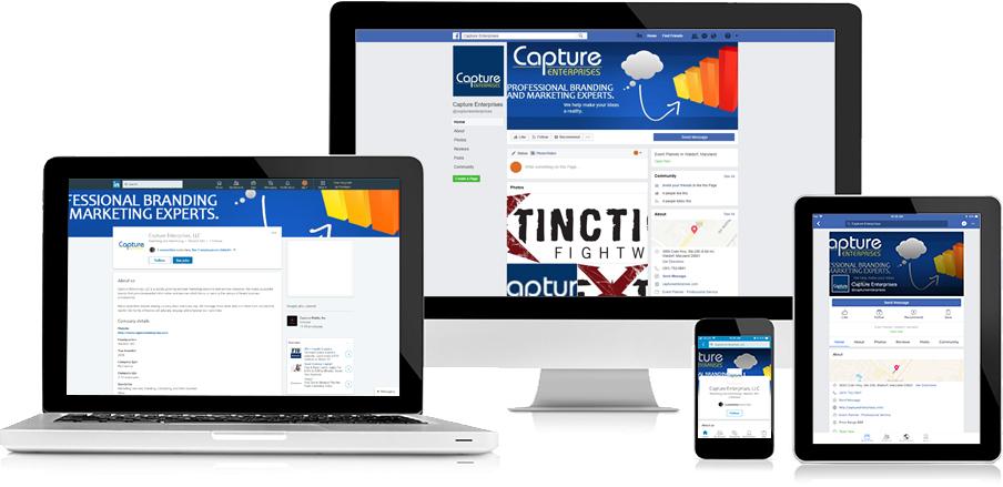 Capture Enterprises Social Media