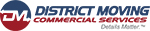 District Moving Companies Logo Commercial