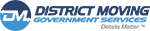 District Moving Companies Logo Government