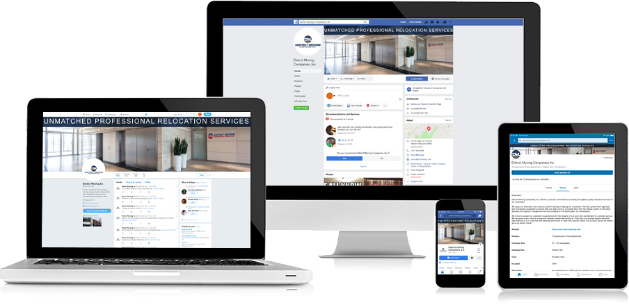 District Moving Companies Social Media 3