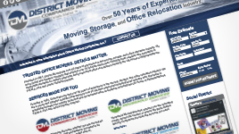 District Moving Companies Website 3