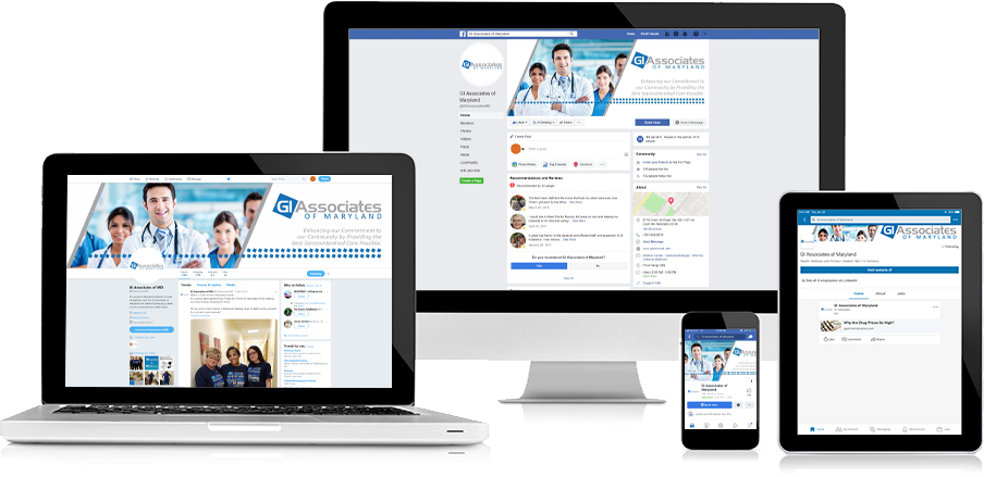 GI Associates of MD Social Media