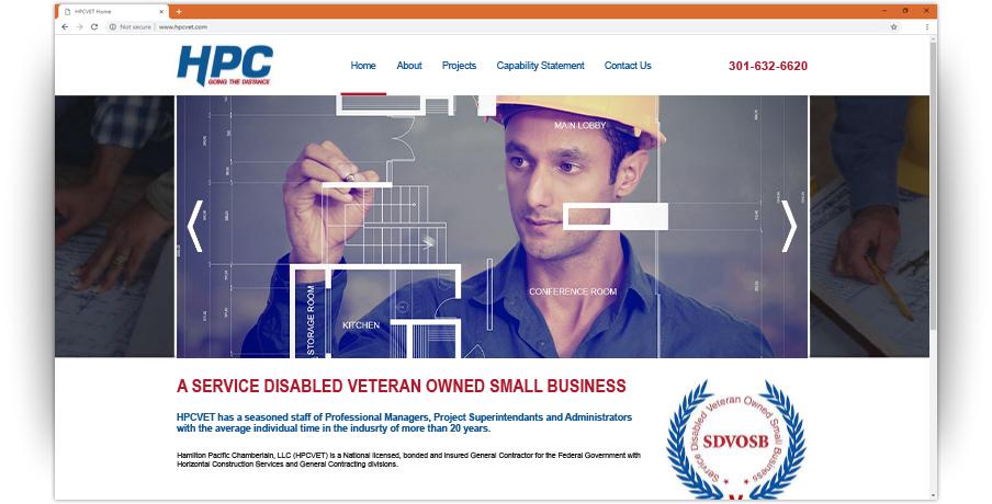 Hamilton Pacific Chamberlain Website 1