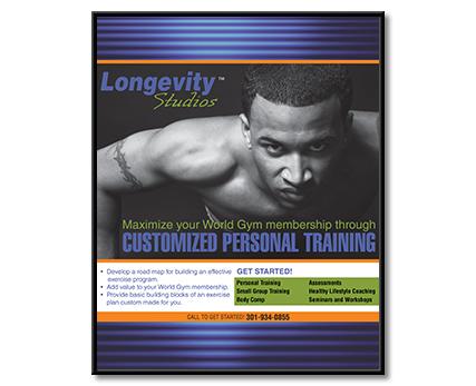 Longevity Studios Poster