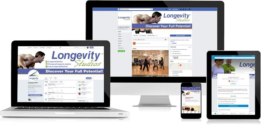 Longevity Studios Social Media 2
