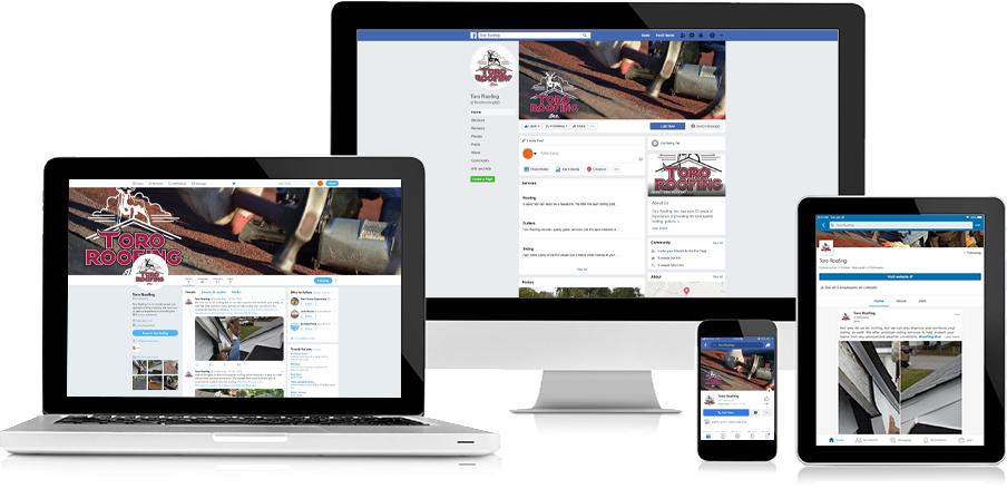 Toro Roofing Social Media