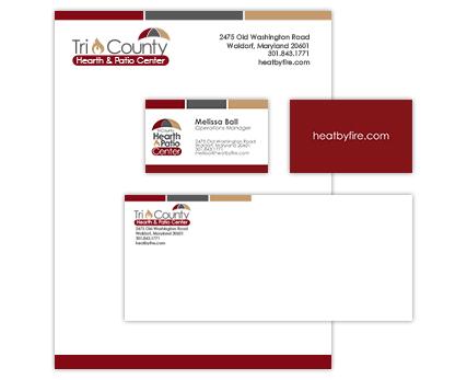 Tri County Hearth and Patio Corporate Identity